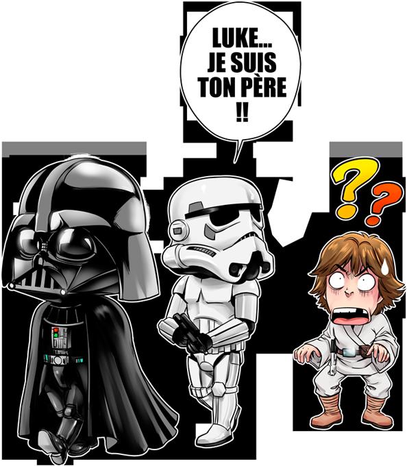 Luke...Je suis ton père !!