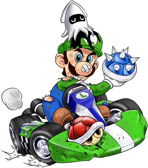 Kart Fighter - Player 2