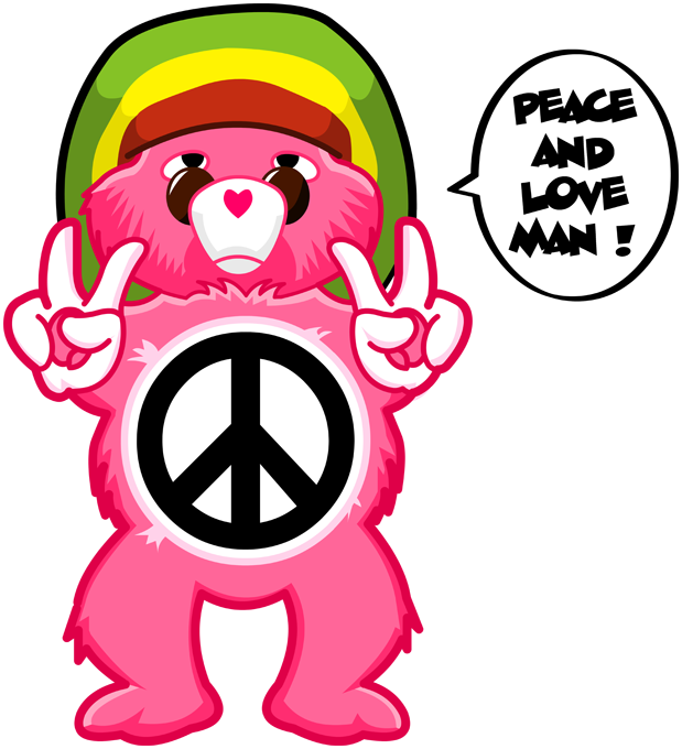 Care Bears - Peace And Love Man
