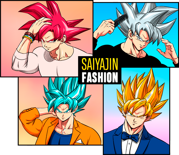 Son Goku Super Saiyajin God and Ultra Instinct