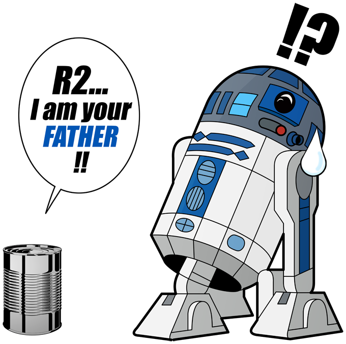 R2-D2 - I am your father