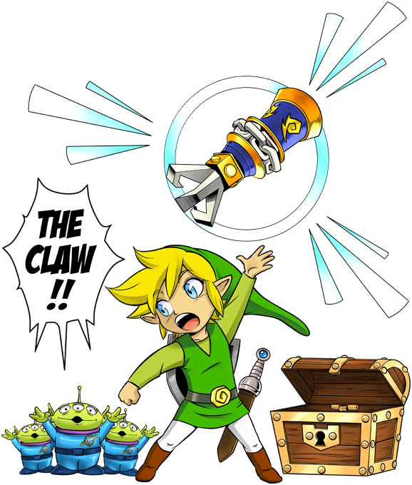 Link and the Aliens