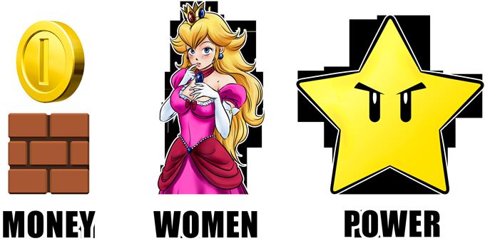 Mario - Women, Money and Power