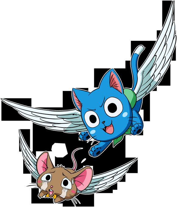 Chat Volant à la chasse...