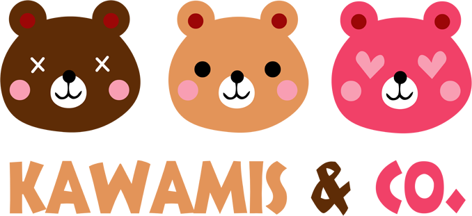 Kawamis and Co. Vol.1 (Pinky, Browny et Caramel) !