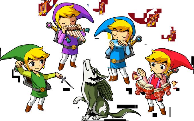 T-shirts Zelda parodique Link : Orchestre symphonique en Solo :) (Parodie Zelda)