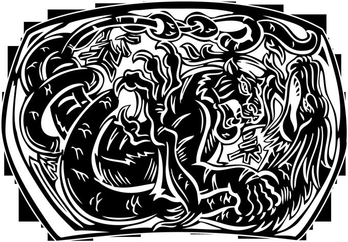 Tigre et Dragon (Version Noire)