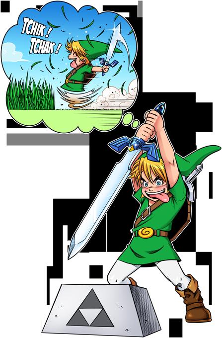 Une épée bien mal exploitée... ^^