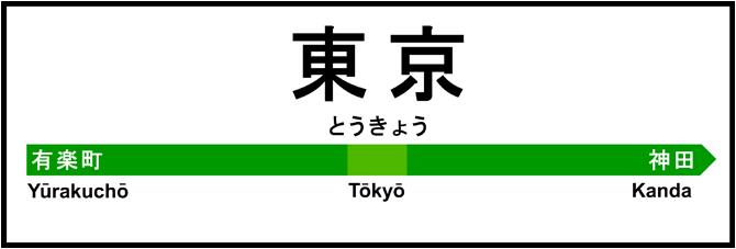 Gare de Tokyo !