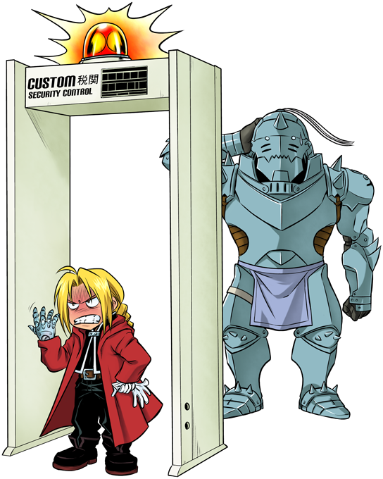 Edward and Alphonse Elric