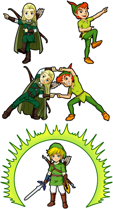 Legolas and Link