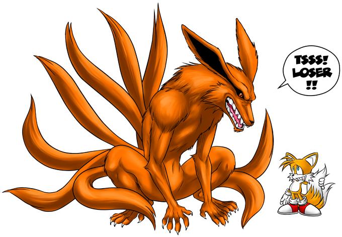 Kyubi and Tails