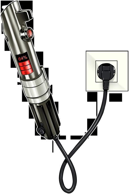 Sabre Laser... en Charge !