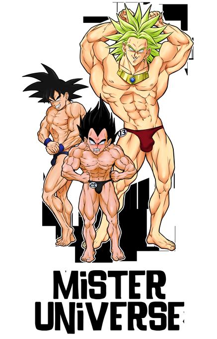 Le grand Concours de Mister Univers !