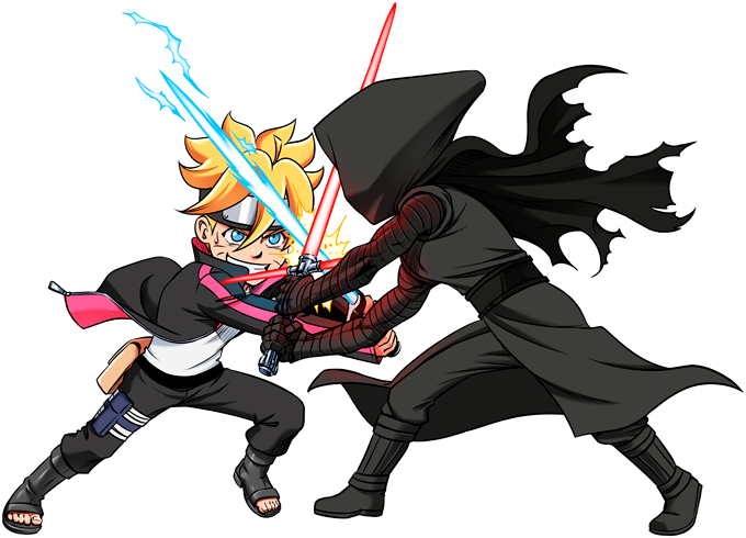Boruto and Kylo Ren