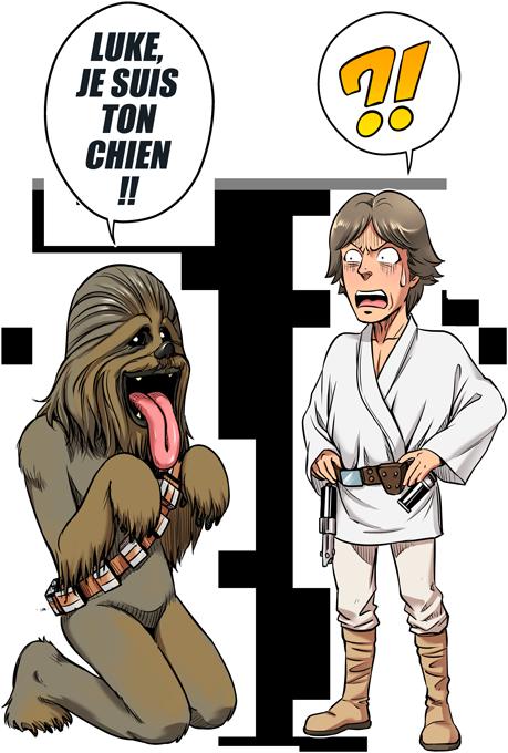 Luke, je suis ton chien (Epoque 1ère Trilogie)