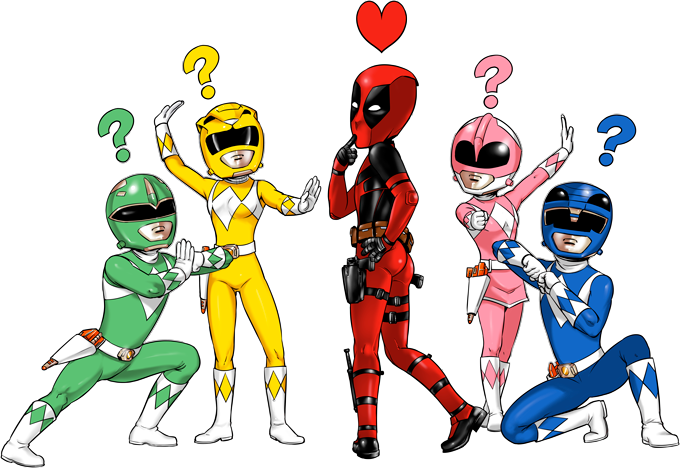 Deadpool and Power Rangers