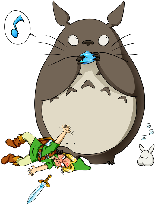 Link and Totoro