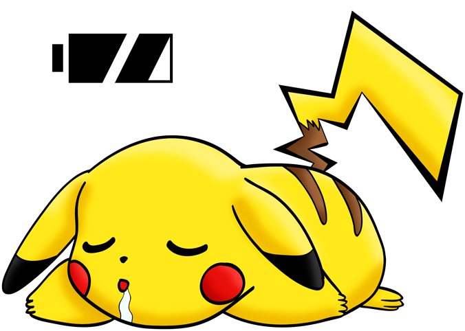 Pikachu - Battery Off