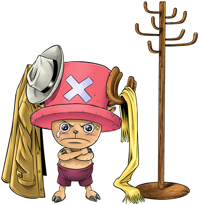 T-shirts One Piece parodique Tony Tony Chopper : Un pirate complètement cintré.... :) (Parodie One Piece)