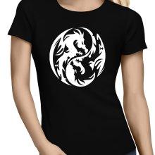 T-shirts Femmes  parodique Japon : Double Dragons (Parodie )