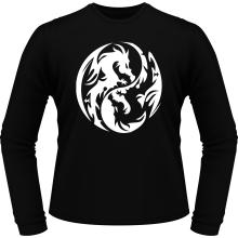 T-Shirts à manches longues  parodique Japon : Double Dragons (Parodie )