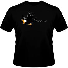 T-shirt  parodique Manga Style : Baka Baka Vol.1 (Corbeau) (Parodie )