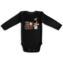 Long sleeve Baby Bodysuits Manga Parodies