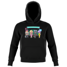 Kids Hooded Sweatshirts Manga Parodies