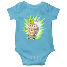 Short-sleeved baby bodysuit (boys) Manga Parodies