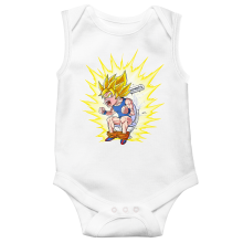 Sleeveless Baby Bodysuits Manga Parodies