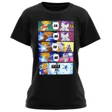 T-shirts Femmes Parodies Manga
