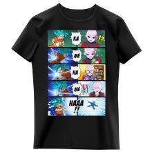 T-shirts Enfants Filles Parodies Manga