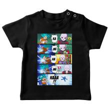 T-shirts bébé Parodies Manga