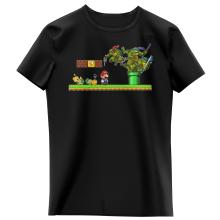 T-shirts Enfants Filles Parodies Jeux Vidéo