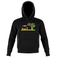 Sweat-shirts à Capuche Enfant Parodies Jeux Vidéo