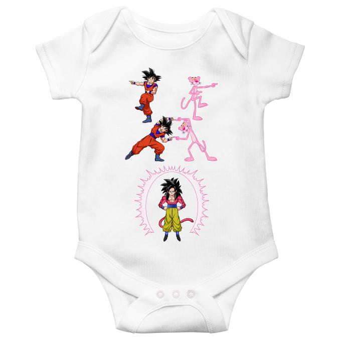 RTGreat Baby Boys Girls Short Sleeve DBZ Goku Funny Bobysuit Body de beb/é