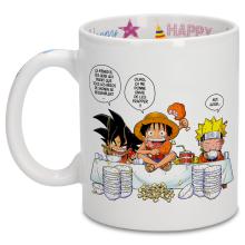 Happy Birthday Mugs Manga Parodies