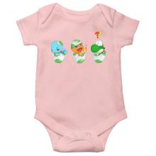 Short-sleeved baby bodysuit (Girls) Video Games Parodies