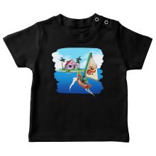 T-shirts bébé Parodies Jeux Vidéo