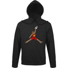 Sweats à capuche  parodique Chewbacca et BB-8 aka Air Jordan : Air Chewie (Parodie )