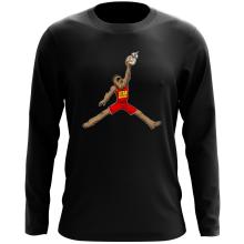 T-Shirt à manches longues  parodique Chewbacca et BB-8 aka Air Jordan : Air Chewie (Parodie )