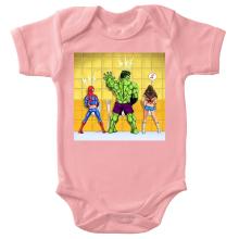 Body bébé (Filles)  parodique Wonder Woman, l