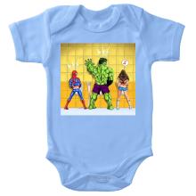 Body bébé  parodique Wonder Woman, l