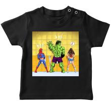 T-shirt bébé  parodique Wonder Woman, l
