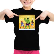 T-shirt Enfant Fille  parodique Wonder Woman, l