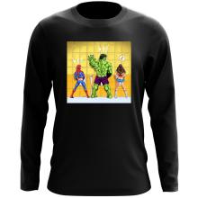 T-Shirt à manches longues  parodique Wonder Woman, l