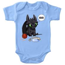 Body bébé  parodique Krokmou : Après le poisson chat... Le Dragon Chat :) (Parodie )
