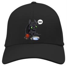 Casquette  parodique Krokmou : Après le poisson chat... Le Dragon Chat :) (Parodie )