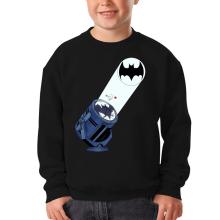 Sweat-shirts  parodique Batman et son célèbre Bat-Signal : Bat Projecteur !! (Parodie )